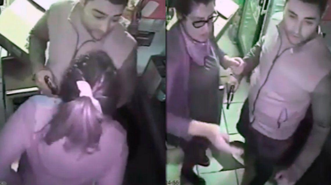 VIDEO: Robó un maxikiosco, fue grabado y ahora toda una ciudad lo busca