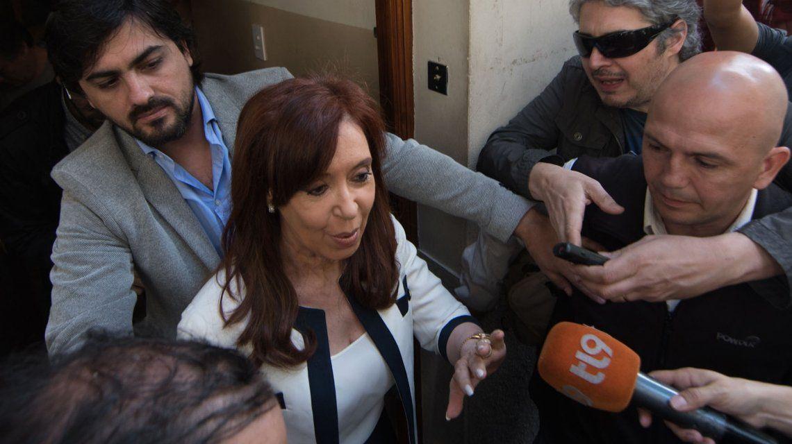 Cristina Kirchner se presentará ante el juzgado de Bonadio el lunes