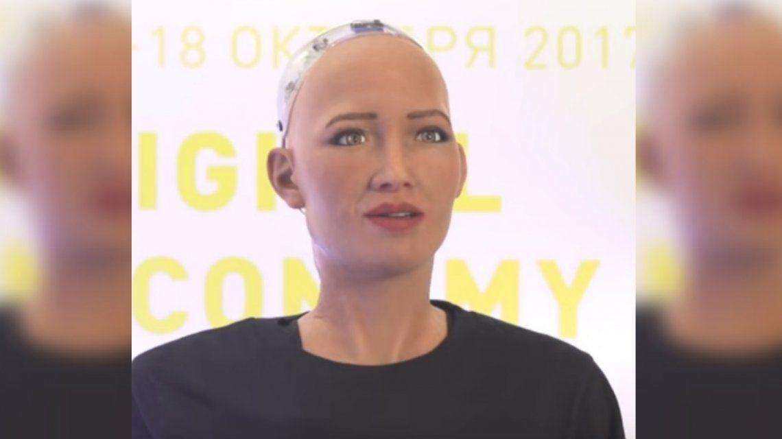 Arabia Saudita le otorgó la ciudadanía a un robot humanoide