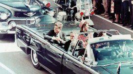 John F. Kennedy, minutos antes de ser asesinado