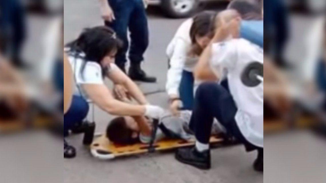 La triste historia de una nena de 5 años que fue atropellada en Rosario