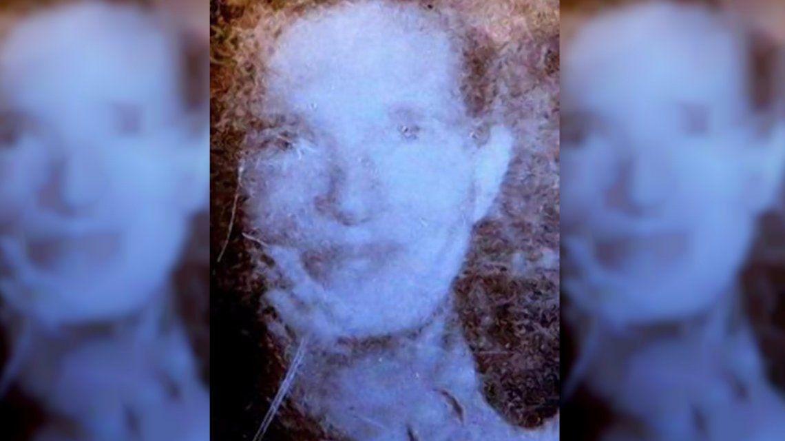 La imagen de Flora Harris cuado desapareció en Nueva York en 1975