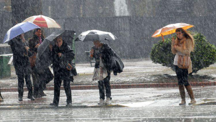Fuerte tormenta en la Ciudad de Buenos Aires