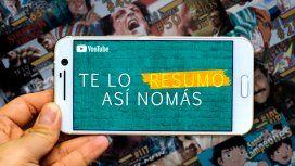 Te Lo Resumo Así Nomás, el canal de YouTube que presenta series de una manera diferente