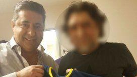 Dos potencias se saludan: la foto de un famoso cantante con Angelici
