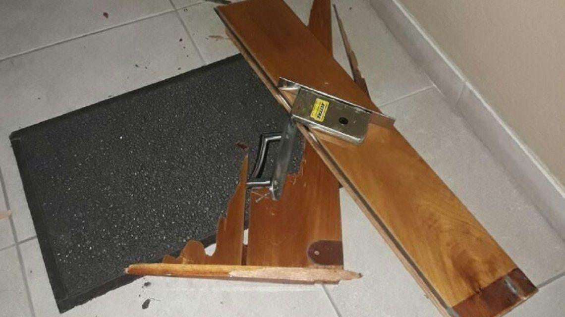 Wheelie-chorros asaltaron cuatro casas en La Plata