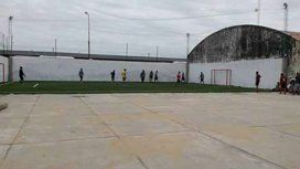 Ocurrió en un complejo deportivo ubicado sobre calle Chacabuco, entre Lugones y Lavaisse de Añatuya