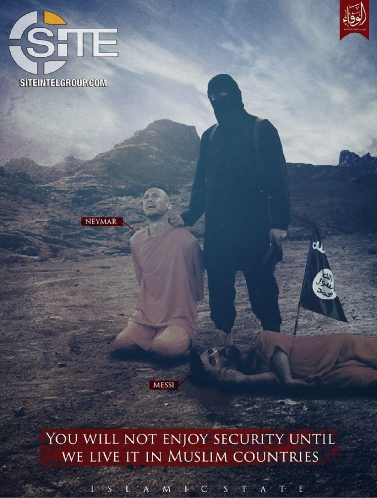 La nueva y escalofriante amenaza de ISIS contra Messi