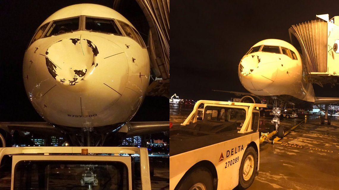 NBA: se rompió la trompa del avión de Oklahoma y los jugadores entraron en pánico