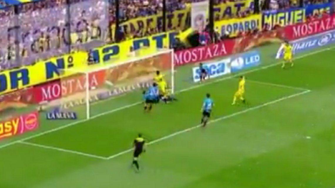 VIDEO: Con este gol en contra, Boca le gana a Belgrano en la Bombonera