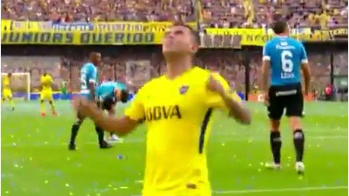 VIDEO: El gol de Edwin Cardona para el 2 a 0 de Boca ante Belgrano