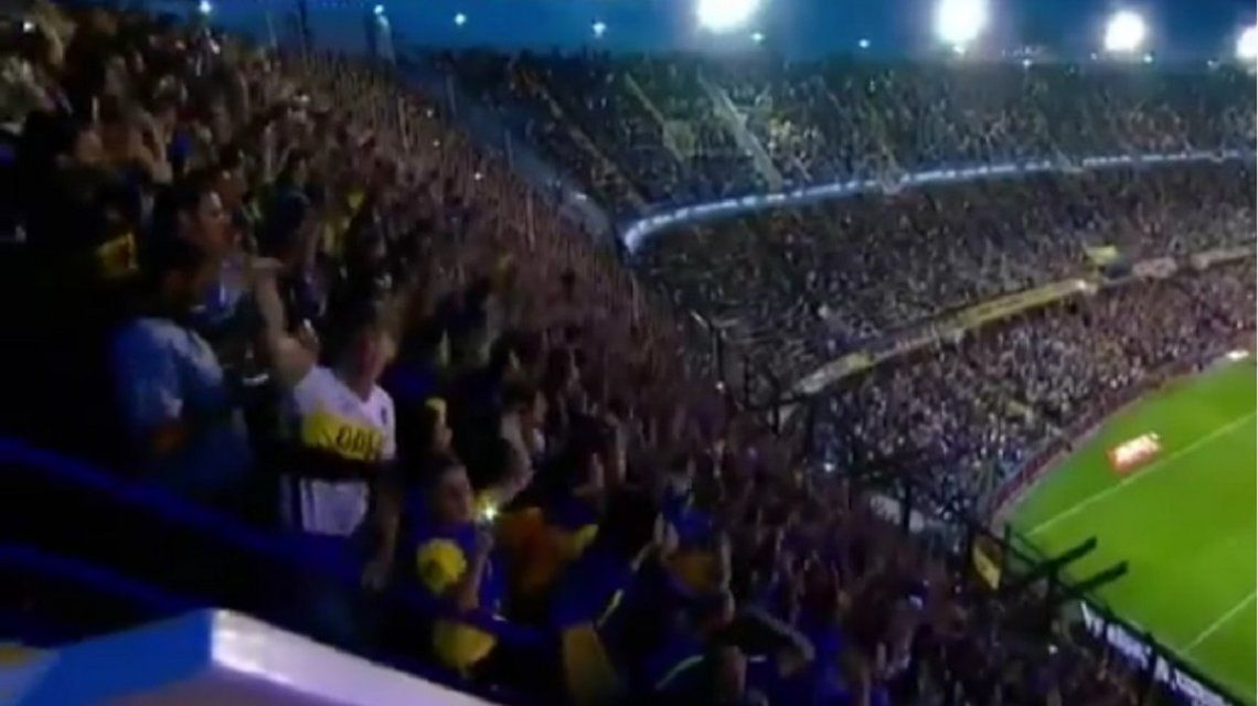 VIDEO: La hincada de Boca ya piensa en el Superclásico con River