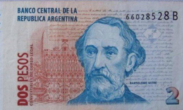 El 31 cierra el plazo para canjear los billetes de dos pesos.<br>