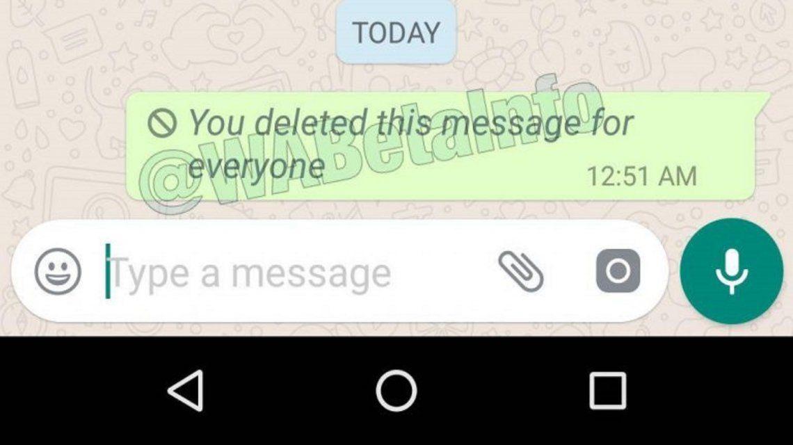 ¿Cómo borrar mensajes en WhatsApp?