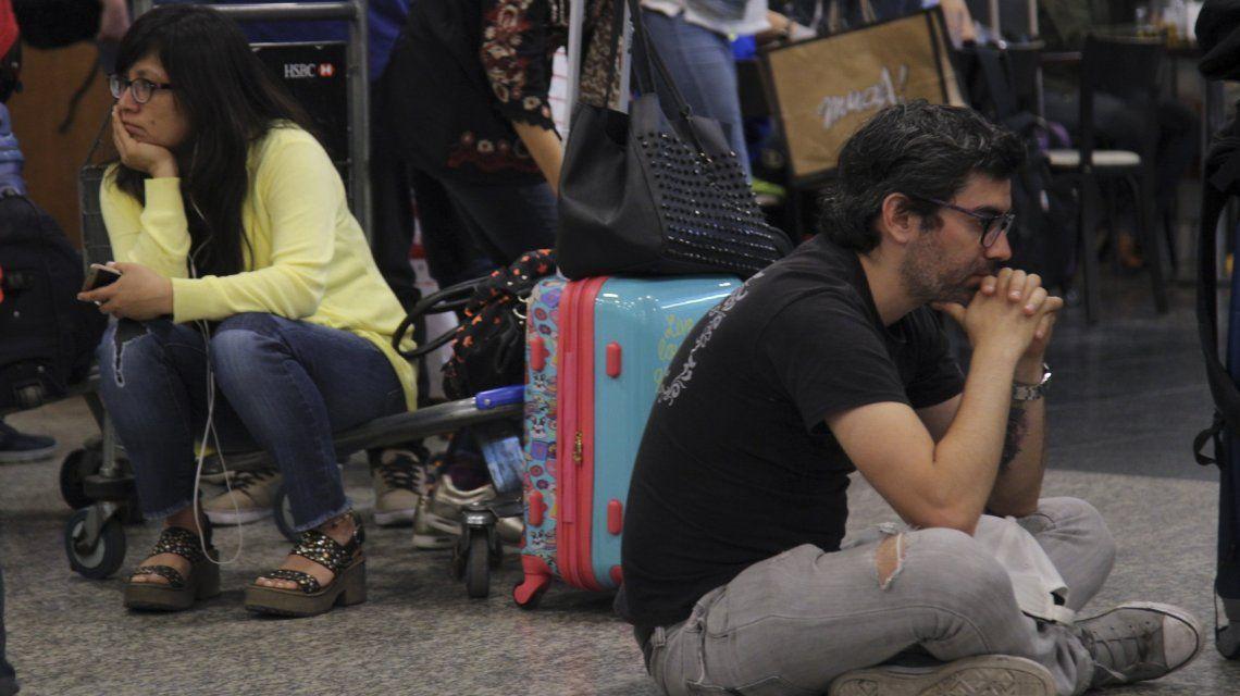 Paro total en Aerolíneas Argentinas y Austral: más de 40 mil pasajeros afectados