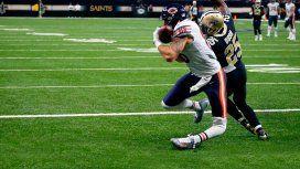 NFL: Zach Miller podría perder la pierna tras su lesión