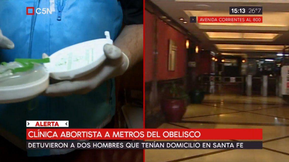 Una clínica abortista, a metros del centro porteño