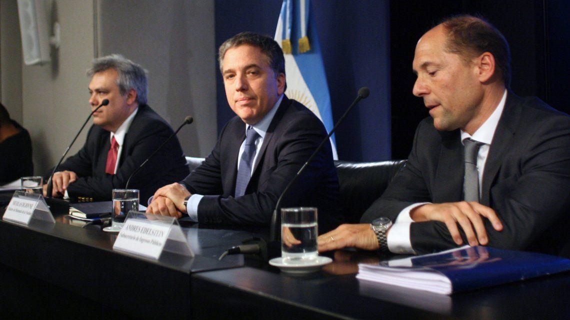Nicolás Dujovne presentó detalles de la reforma tributaria