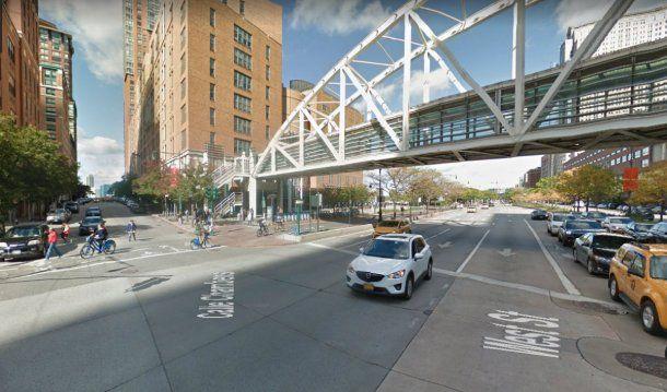 El ataque fue cerca del colegio secundario Stuyvesant, en el downtown