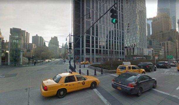 La esquina del escenario del ataque de este martes en Nueva York