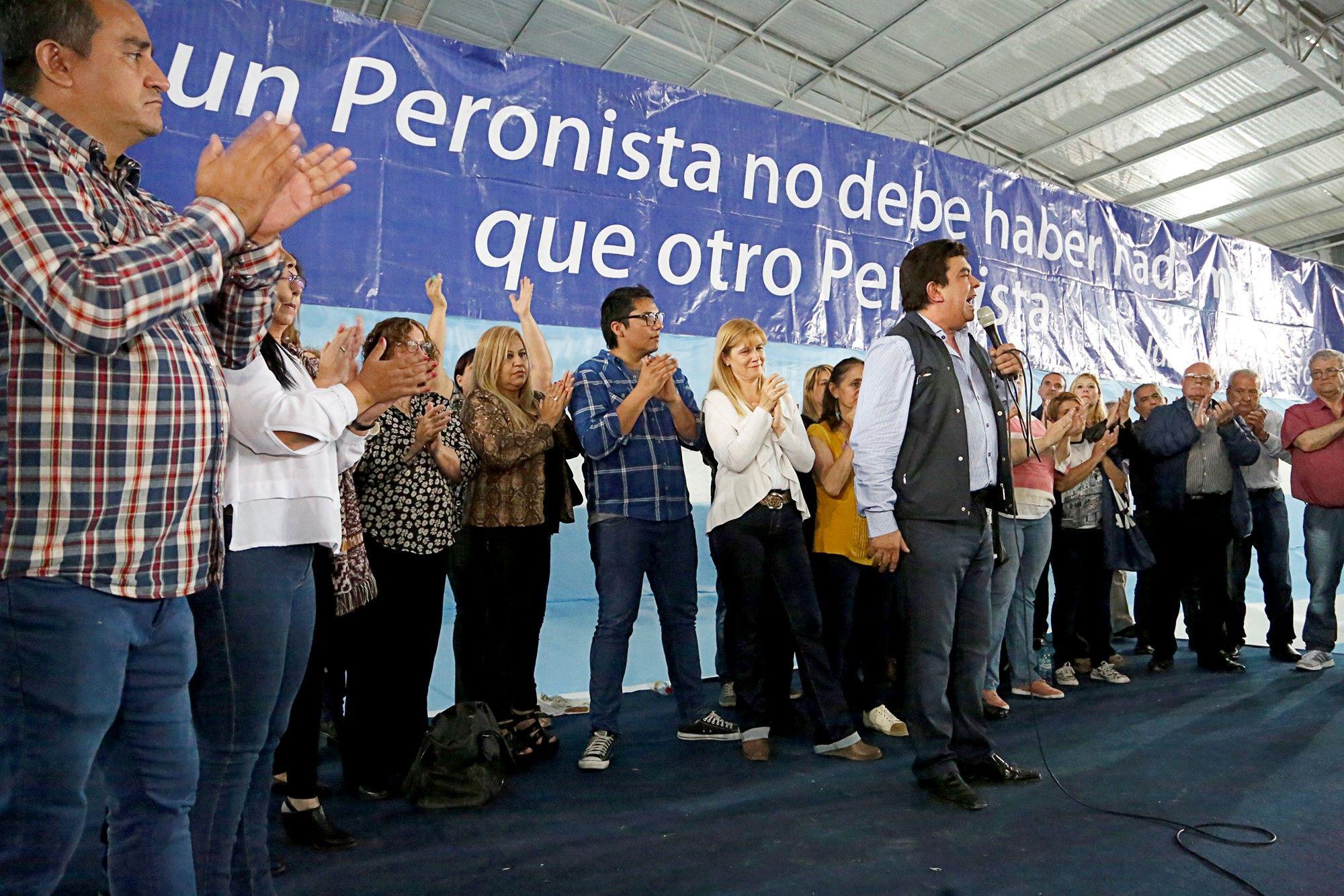 Fernando Espinoza pidió por la unidad del peronismo en todos los cuerpos legislativos
