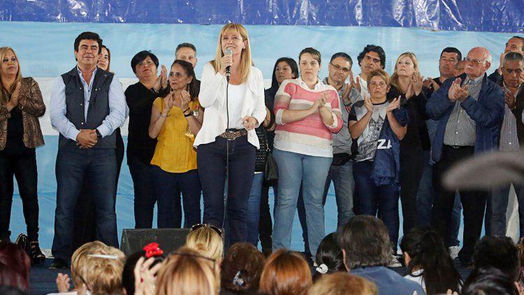 Verónica Magario le agradeció a la militancia de La Matanza por el triunfo