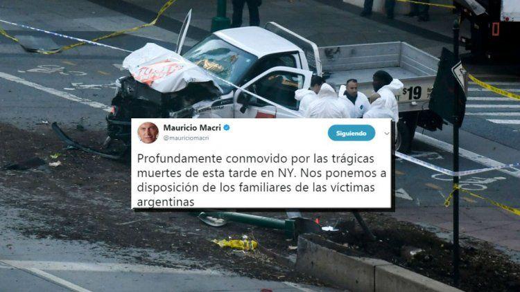 Mauricio Macri y el ataque en Nueva York