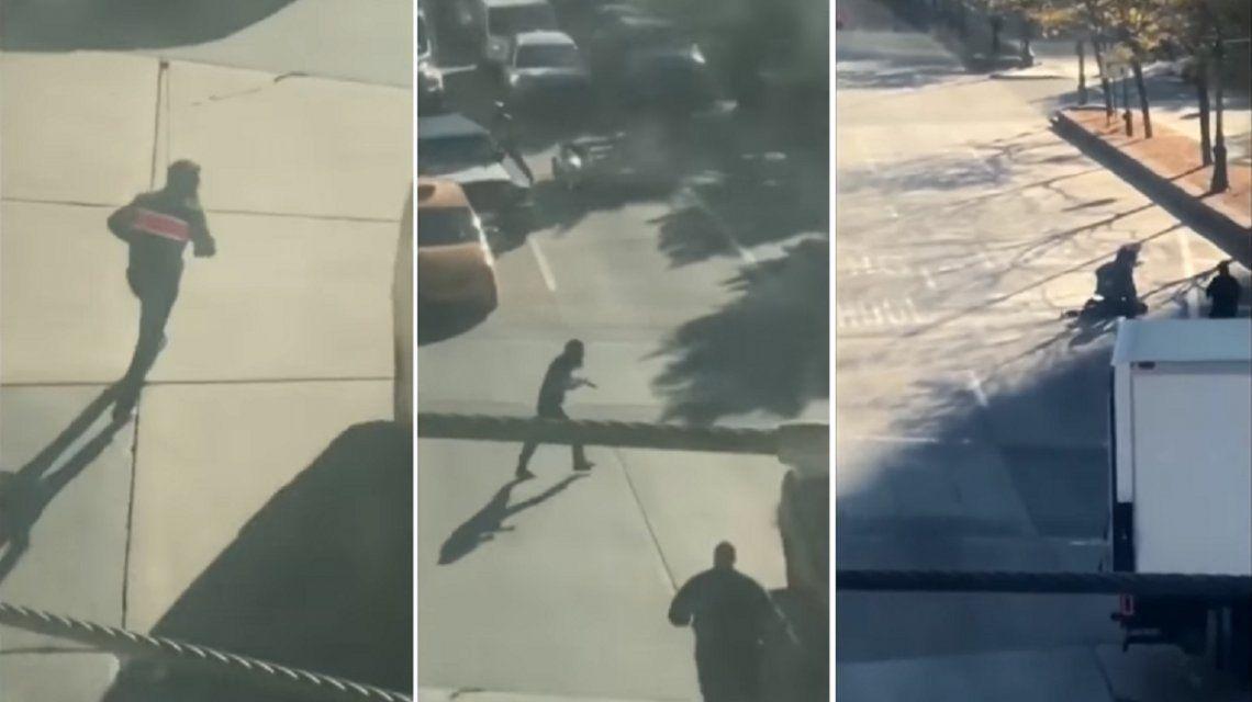 VIDEO: Así fue el dramático arresto del autor del atentado en Nueva York