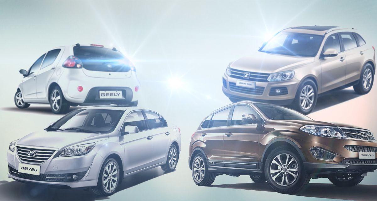 Las 14 marcas de autos chinas que llegan a la Argentina en 2018