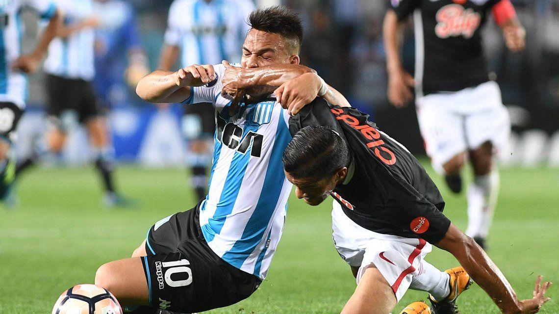 Racing no pudo superar a Libertad y se quedó eliminado de la Copa Sudamericana