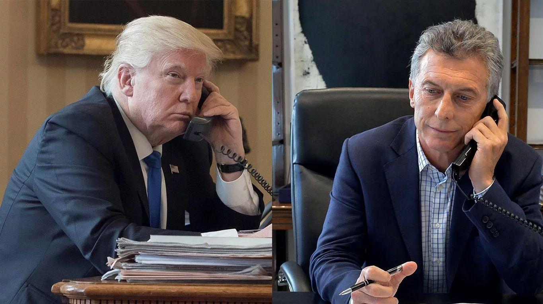 Macri habló 15 minutos por teléfono con Trump sobre la crisis de la Argentina