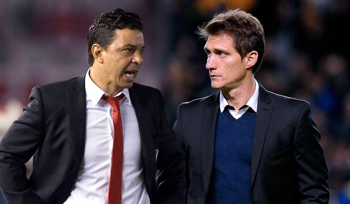 Gallardo vs. Guillermo: ¿cómo está el historial entre los entrenadores del Superclásico?