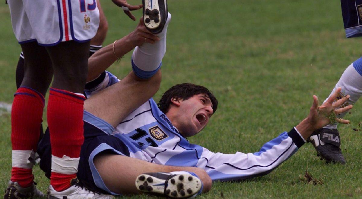 El Chori Domínguez y su cruda lesión en el Mundial juvenil de 2001