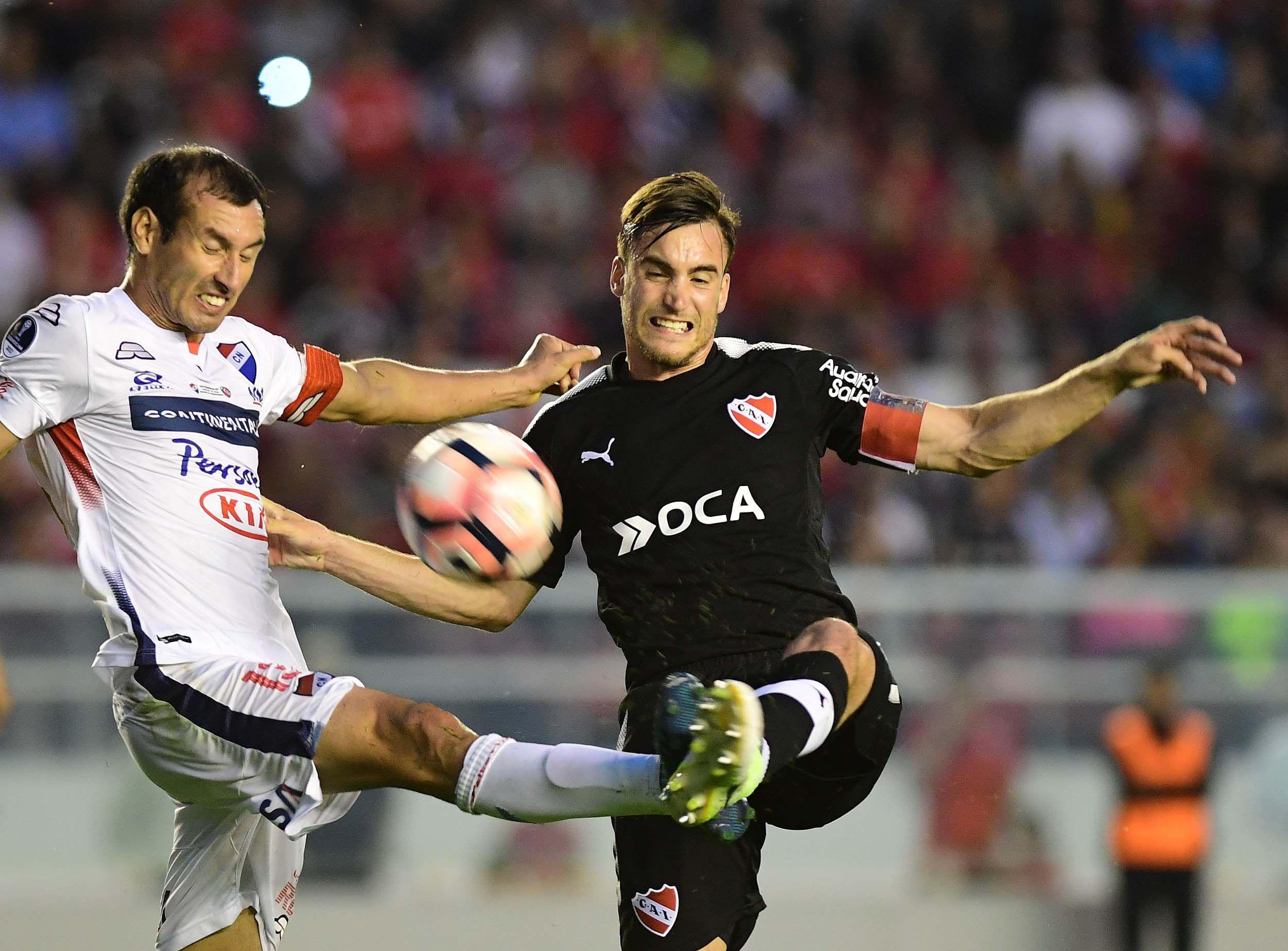 Independiente ante Nacional en el Libertadores de América