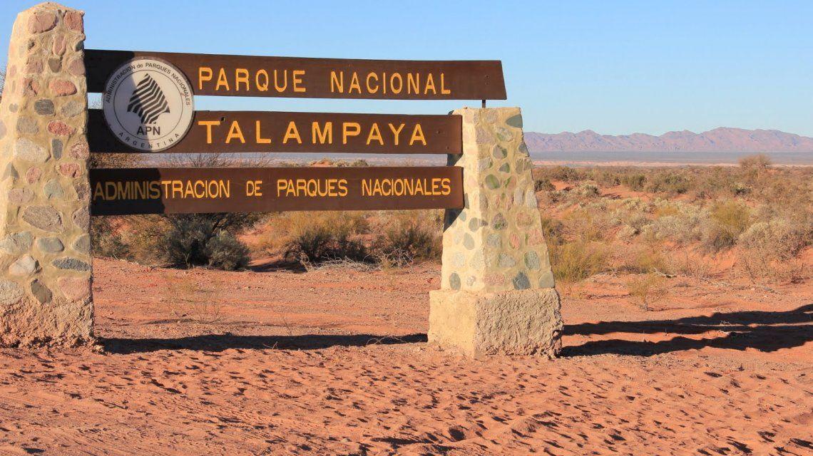 Parque Talampaya en La Rioja