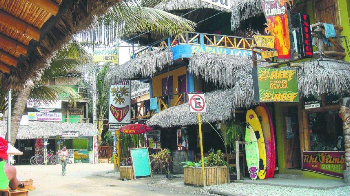 Montañita es una de las playas típicas de Ecuador