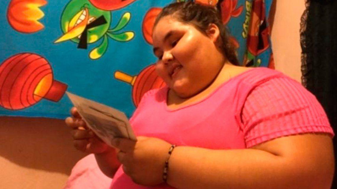 La adolescente llegó a pesar 195 kilos y era la más obesa del mundo