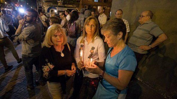 <p>Homenaje a los rosarinos fallecidos en el ataque terrorista en Nueva York en la escuela donde estudiaban</p>
