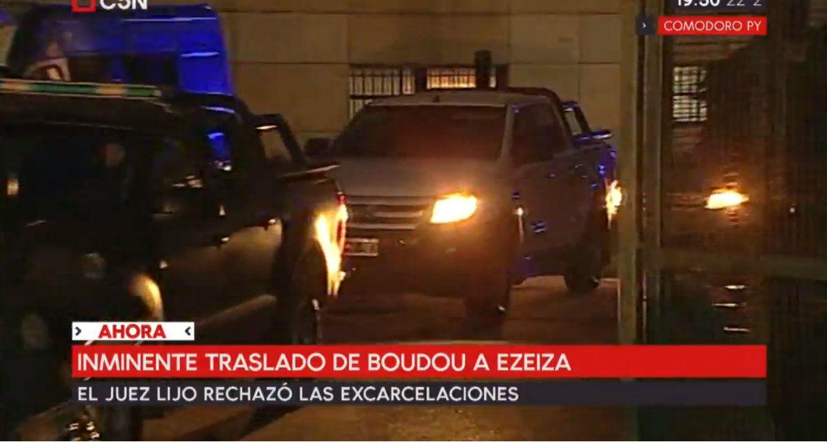 Núñez Carmona también será trasladado al penal de Ezeiza