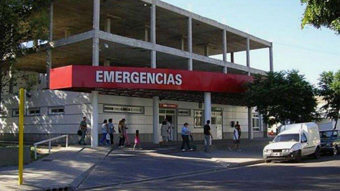 El nene fue trasladado al hospital pero murió antes