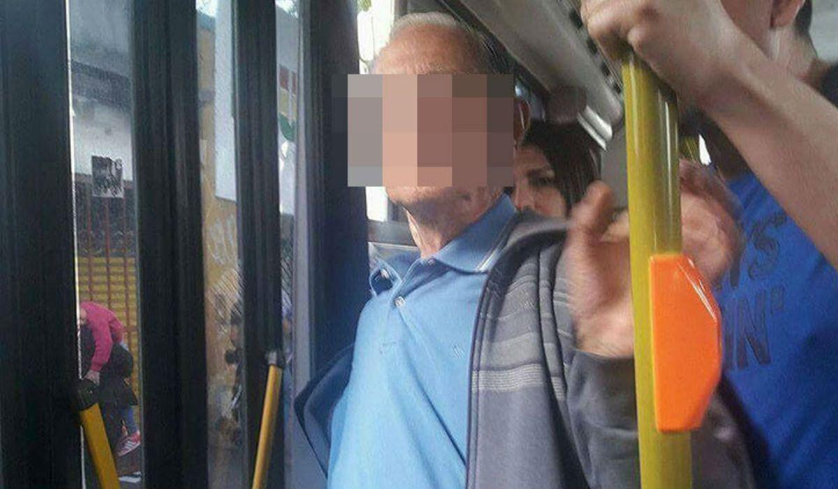 La víctima y otros pasajeros no dejaron que se baje del colectivo para llevarlo a la comisaría