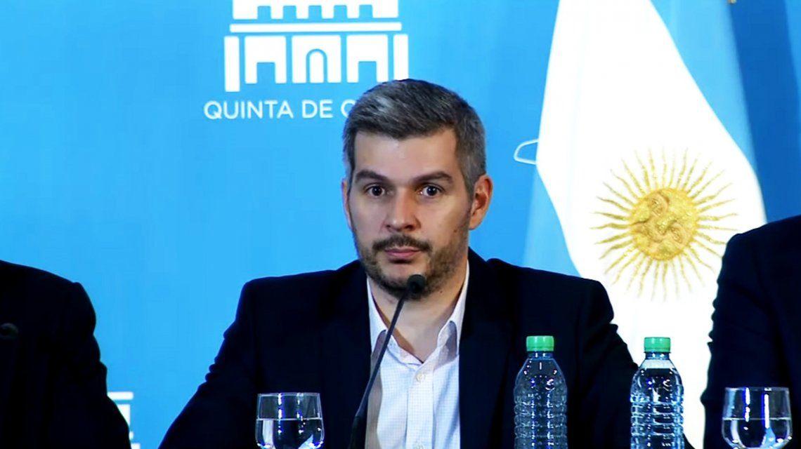 Marcos Peña se mostró optimista en llegar a un acuerdo con la CGT