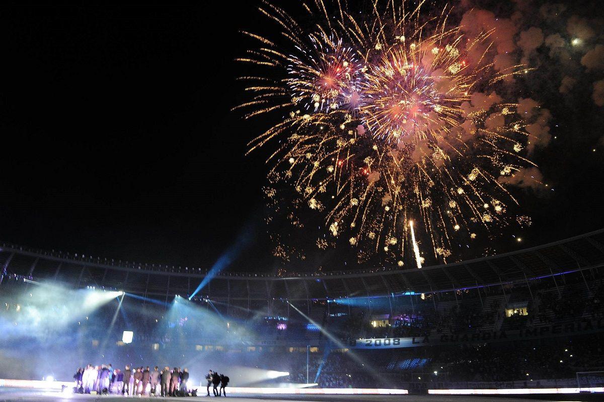 Así fue el festejo de Racing por los 50 años de la Copa Intercontinental