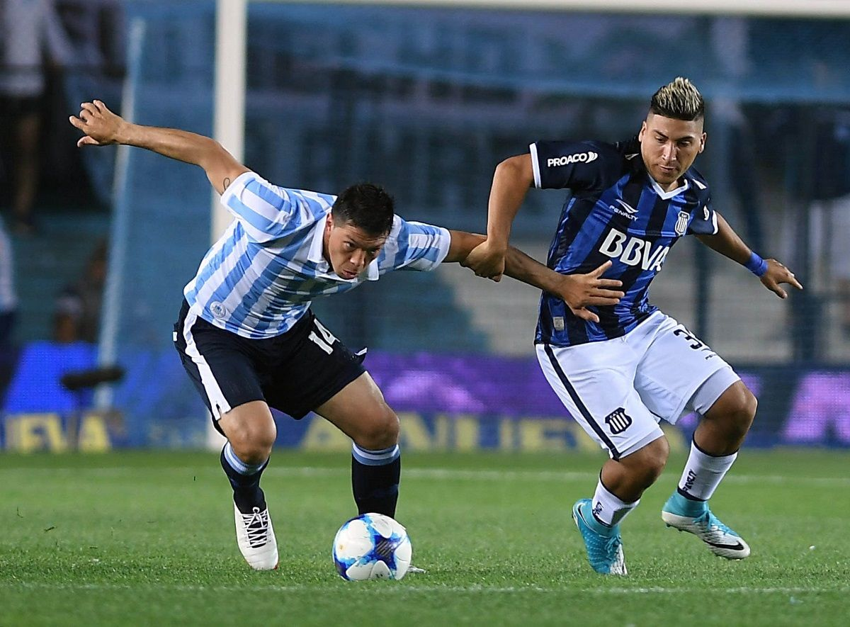 Racing logró el empate ante Talleres en Avellaneda