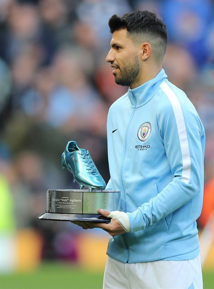 El sentido homenaje del City al Kun Agüero, el máximo goleador de su historia