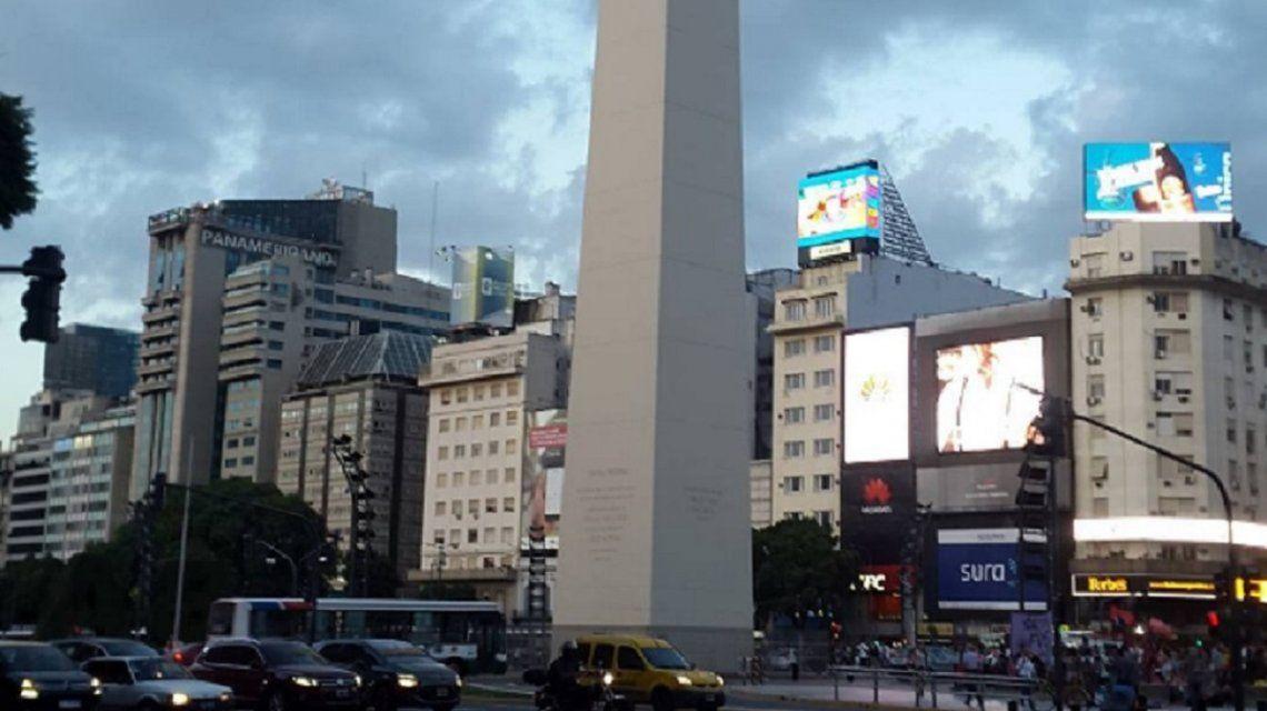 Viernes con posibles lluvias hacia la tarde en Capital y Gran Buenos Aires