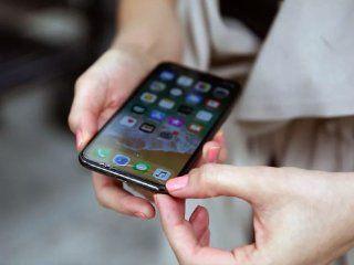 el nuevo iphone x se rompio a la primera caida