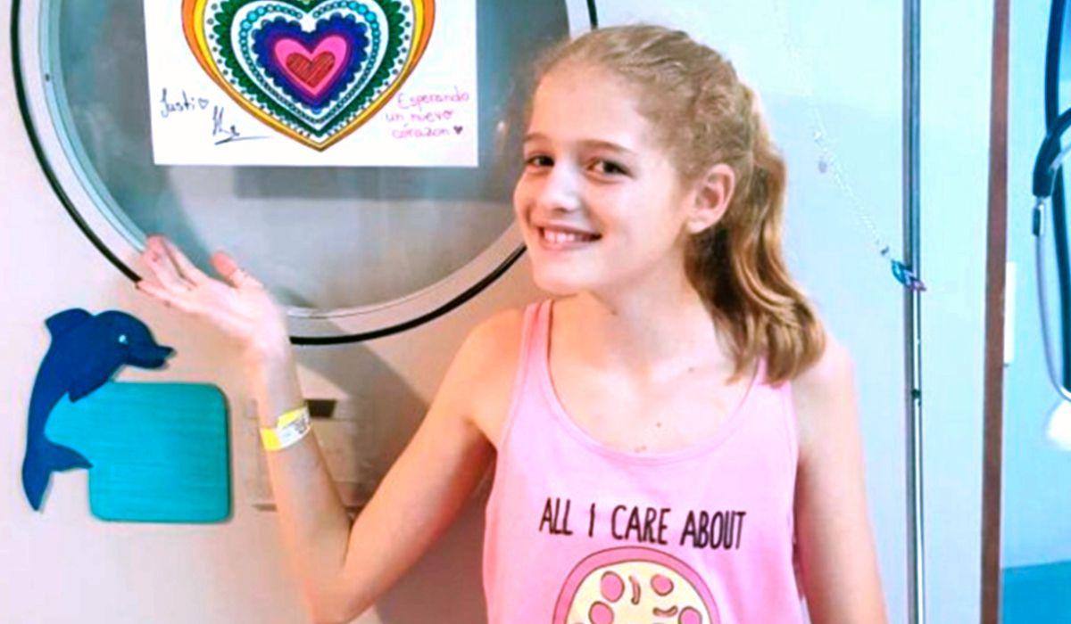 Murió Justina Lo Cane, la nena que esperaba un corazón