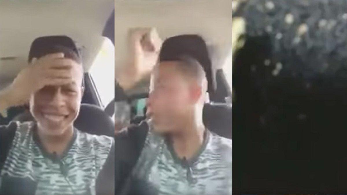 Jóvenes fueron baleados en un auto mientras transmitían en vivo por Facebook