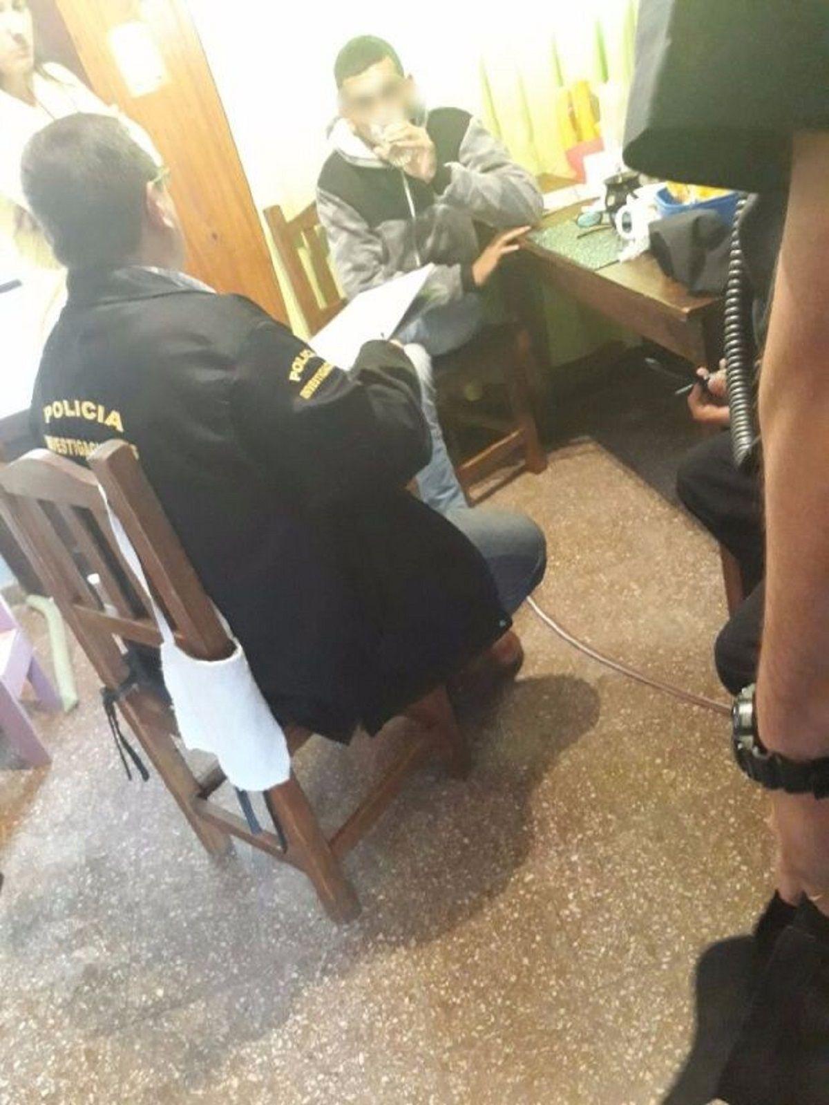 El criminal prontuario del menor detenido por el crimen de Abril Bogado